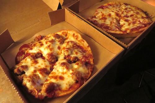 Free LaRosa's pizzas