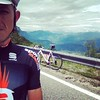 #montebondone #rapharising proud with my @sportful #dolomitirace kit.
