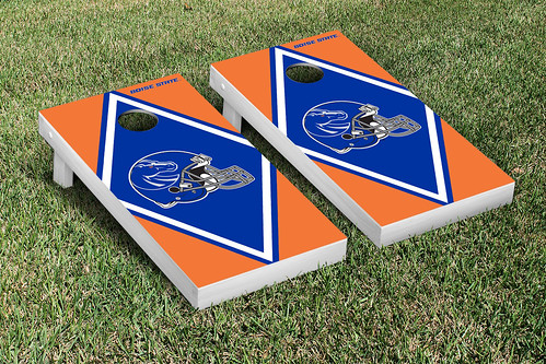 Boise State University Broncos Cornhole Game Set Diamond