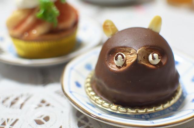 埼玉県蕨市 町の小さなケーキ屋さん おおはし たぬきのケーキ