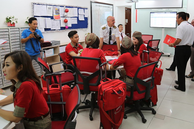 Staff training centre at VietJet