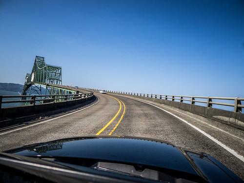 Astoria Bridge over Columbia River