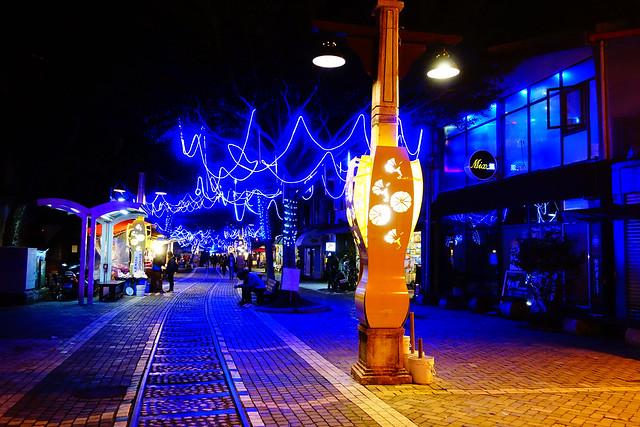 花蓮舊鐵道商圈 (Photo by Lilygloria)
