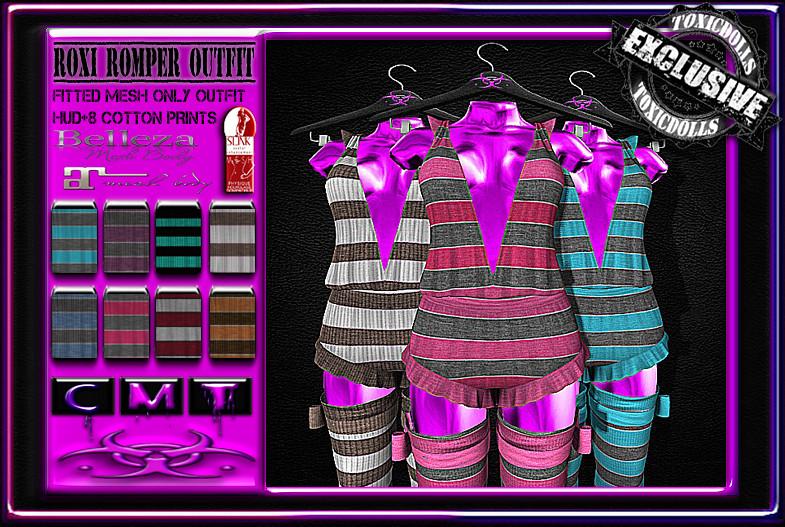 [TD] Roxi Romper Outfit - SecondLifeHub.com