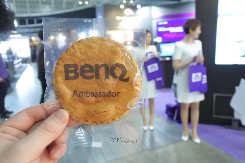 CP+でBenQアンバサダー