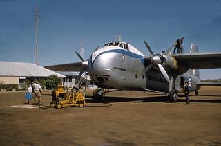 1958 NZ5903 at Cloncurry, Queensland, Australia