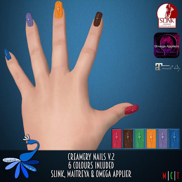 ZcZ Creamery Nails v2