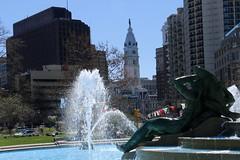 Swann Fountain - Logan Square
