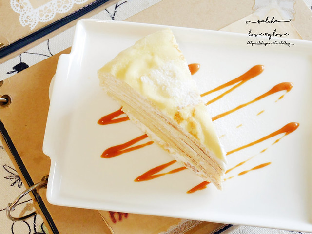 新店碧潭下午茶推薦薇甜咖啡甜點好吃蛋糕千層派 (3)