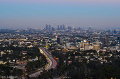Los Angeles from Hollywood Bowl