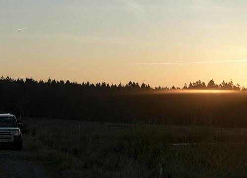 #spaceship #sunset #Fagnes #tourbieres #disco #lrd3