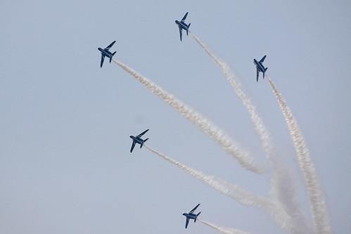 ブルーインパルス展示飛行 IMG_5029_2