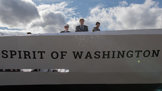 March 28, 2017 Christening of the Spirit of Washington