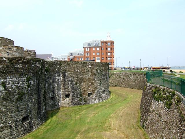 Deal Castle moat