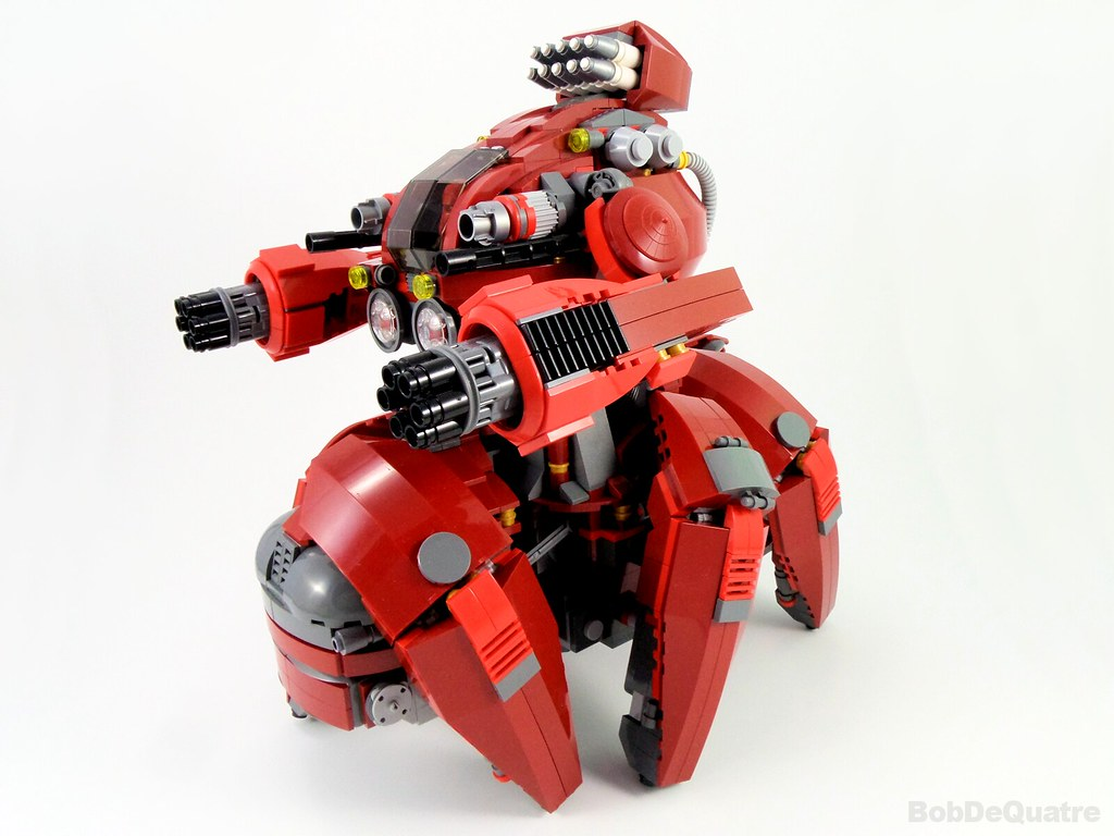 Devastator walker mech (custom built Lego model)