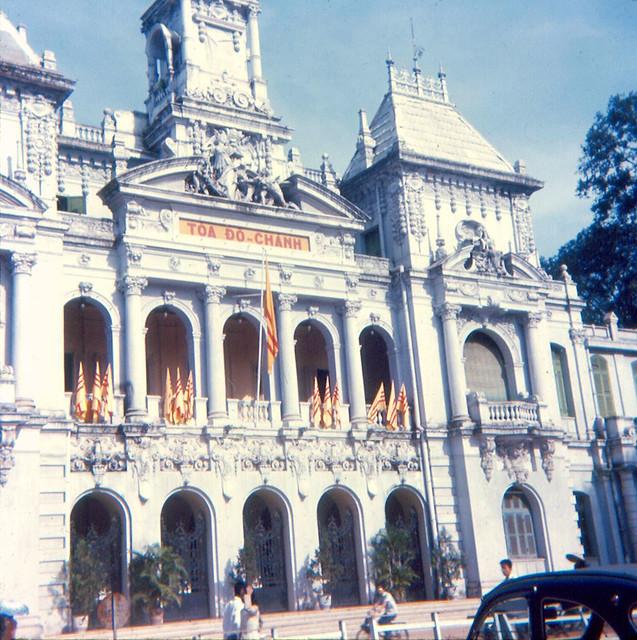SAIGON 1966 by Jon W. Madzelan - City Hall - Tòa Đô Chánh