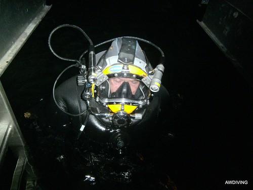Vijf jarige onderwater inspectie