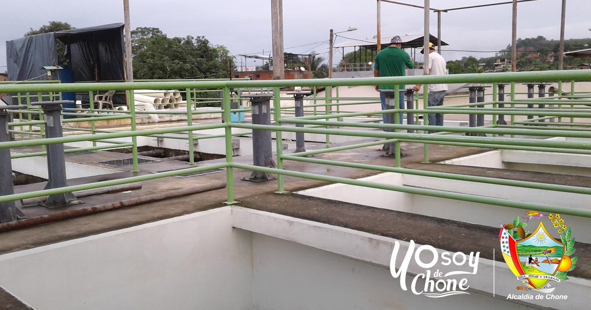 12.000 m3 de agua potable se producen diariamente en Chone