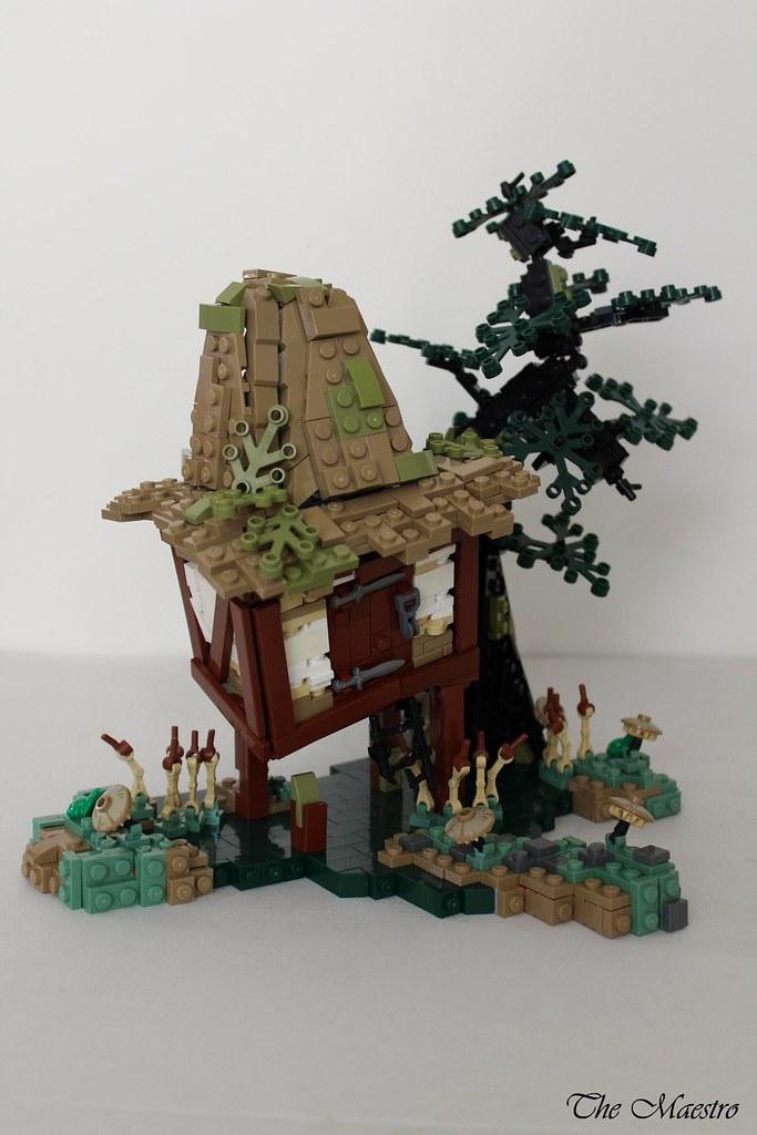 Witches Shack (custom built Lego model)