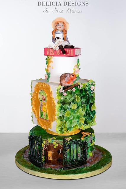Cake by Delicia Designs