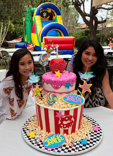 A Carnival Birthday for Jaclyn and Janelle