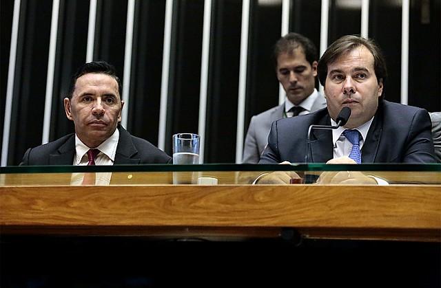 Presidente da Câmara, Rodrigo Maia, foi criticado por ter colocado medida de novo em votação - Créditos: Cleia Viana/Câmara dos Deputados