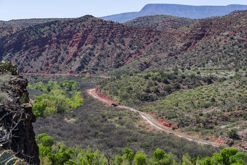 arizona coconinonationalforest fr131 forestservice pentaxk1 redrockrangerdistrict sycamorecanyonroad usfs verderiver desert forest outdoors clarkdale unitedstates