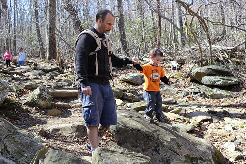 Shenandoah National Park - Whiteoak Canyon Trail - Ryan Helps Sagan Climb