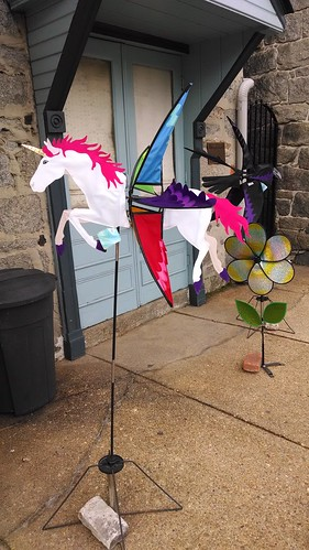 Wind Sock Displays Outside The Forget-Me-Not Factory
