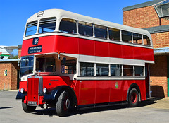 Leyland Titan PD2/40 with Neepsend H36/28R body. New in 1967 to Stockport Corporation. Brooklands 13.4.14....