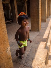 Kids in Tanjore
