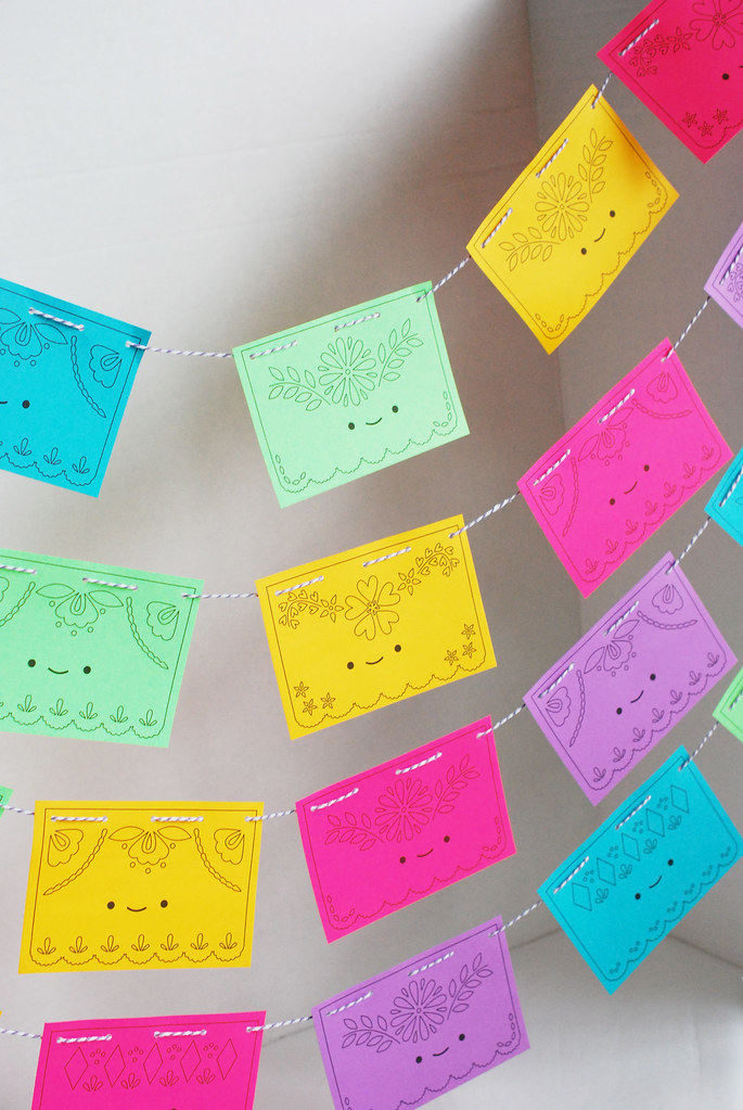 Printable Papel Picado
