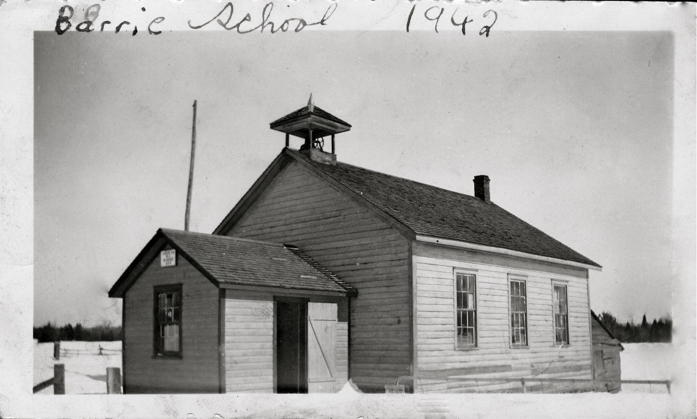 Barrie School East side Hwy #41, South of Rd. 506