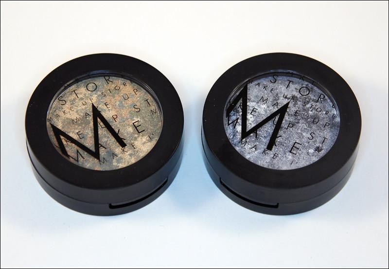 MUS indus gold + black vermont marble eyeshadow