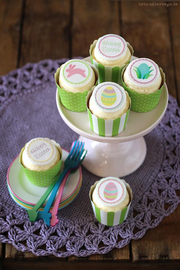 Pineapple & Marzipan Cupcakes   +++keksunterwegs.de+++