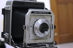 4X5機之路(2)-超級格拉菲相機(Super Speed Graphic)
