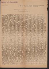 A kapuvári főszolgabíró jelentése főispánnak a gróf Páffy Fidél-féle nemzeti szocialista párt Beleden tartott gyűléséről, Kapuvár, 1939. március 6.