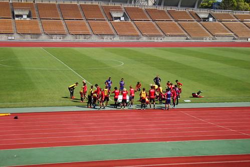 2014/04/24 京都サンガFC 西京極公開練習 #04