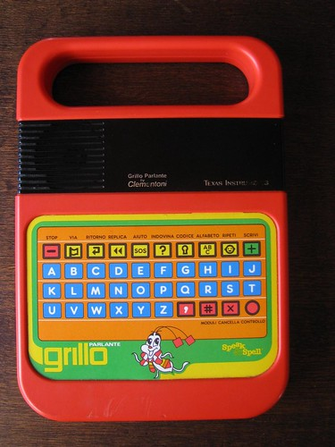 grillo parlante texas instruments