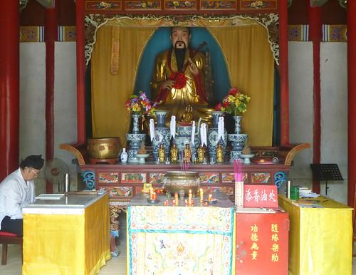 Jiangxi-Longhu Shan-2 Shangqing-temples taoistes (9)
