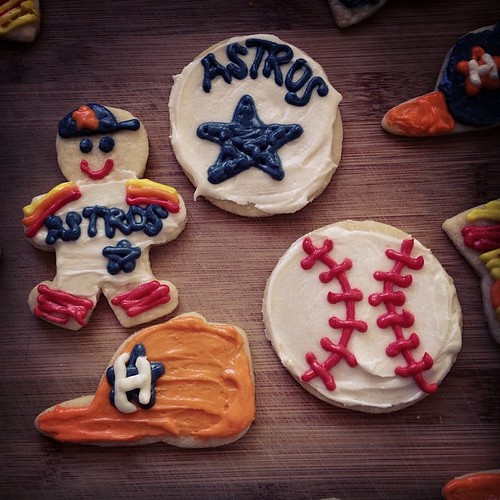 More #Astros cookies. I love them