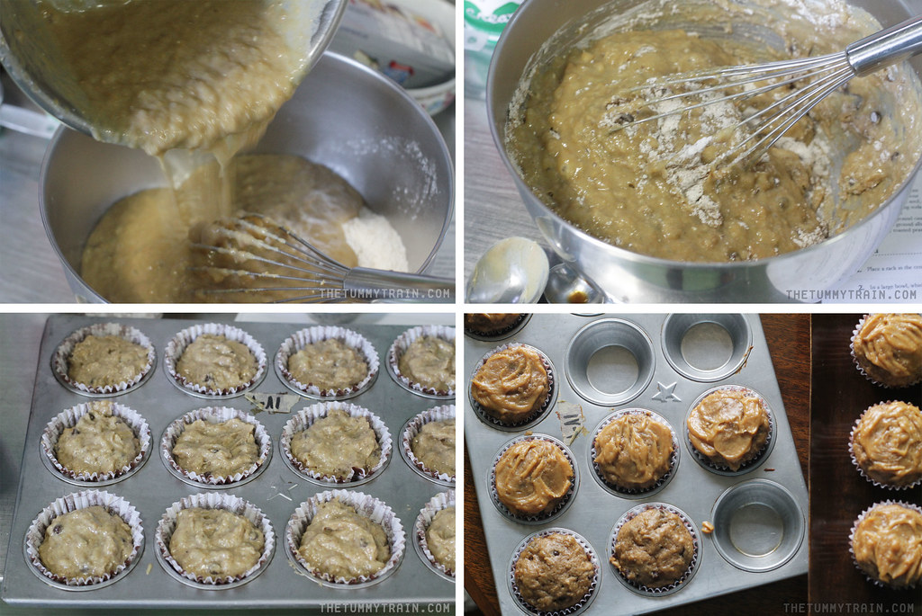 "14046282612 e5eec579a5 b - Some ""Skinny"" Peanut Butter-Banana Muffins for bikini season"