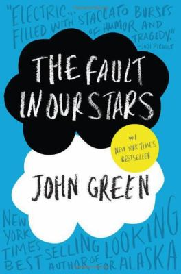 The Fault in our Stars by John Green book cover.