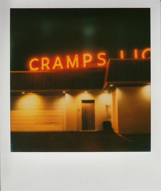 Cramps LiquorsPolaroid SX70Impossible Color Film for SX70