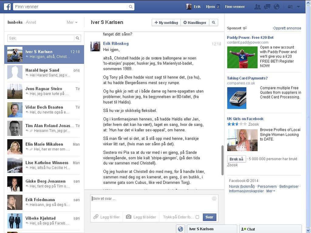 christell facebook 1