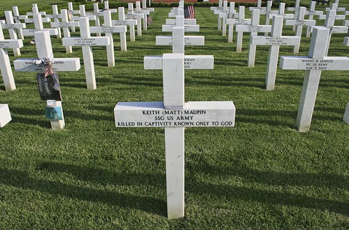 Ohio Fallen Heroes Memorial: Keith (Matt) Maupin, SSG US Army; Killed In Captivity Known Only To God