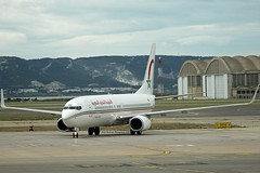 RAM Royal Air Maroc CN-ROU Boeing 737-8B6 Winglets cn/33069-2911 @ Marseille Provence Airport LFML / MRS 11-05-2014