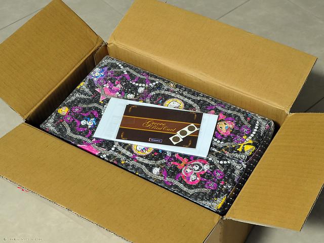 Pullip Violetta - shipping box