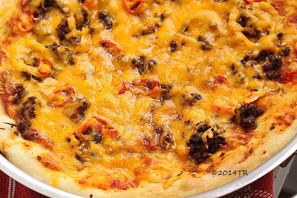美式火辣深盤披薩 American hot pizza pie-20140505
