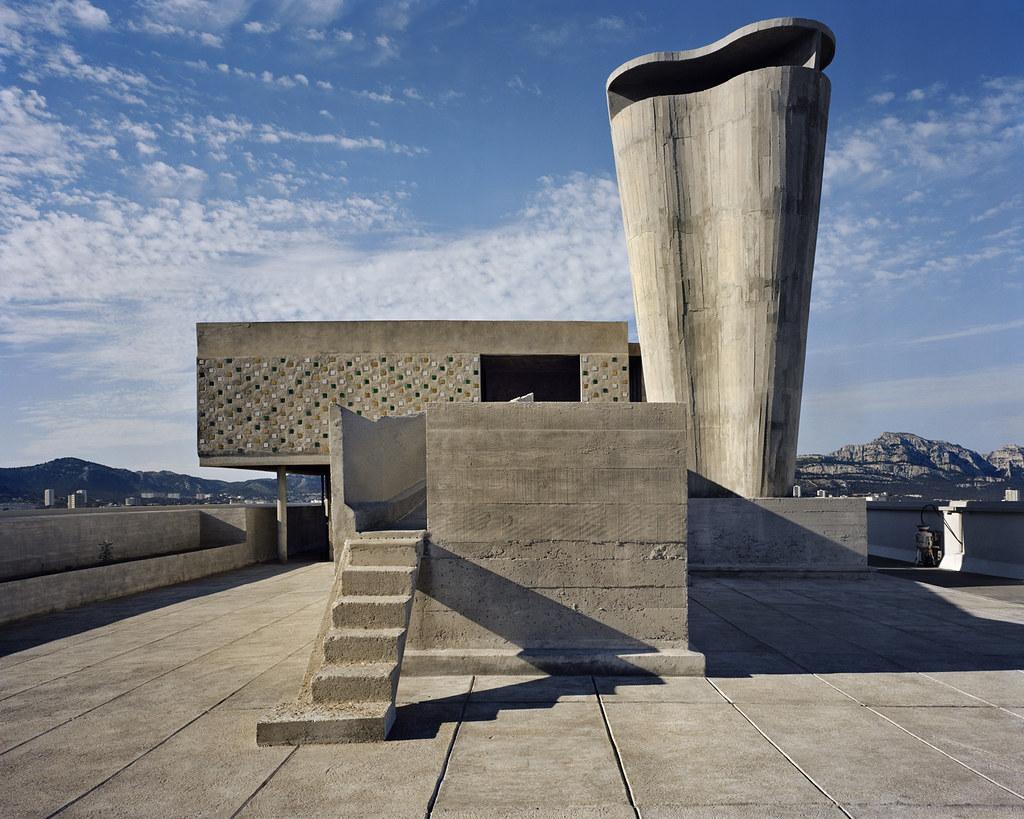 Unité d'habitation, Marseilles, 1946-52. © Richard Pare, 2011